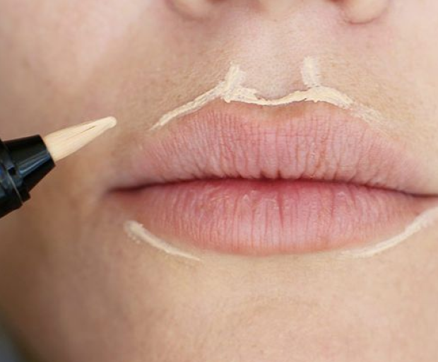 Image result for concealer around the lips